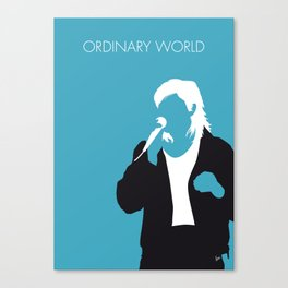 No105 MY DURAN DURAN Minimal Music poster Canvas Print