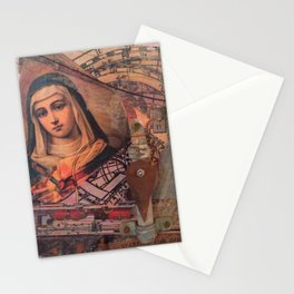 Projecting Mary Stationery Cards