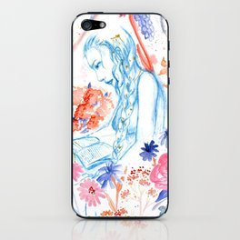 a hopeless romantic iPhone Skin