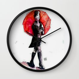 Umbrella Wall Clock
