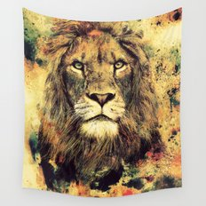 LION -THE KING Wall Tapestry