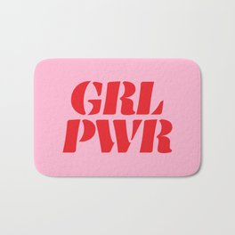 Girl Power GRL PWR Bath Mat