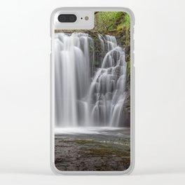 Sgwd Ddwli Isaf Clear iPhone Case