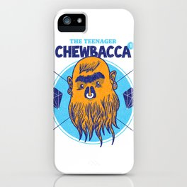 Hipster Chewie iPhone Case