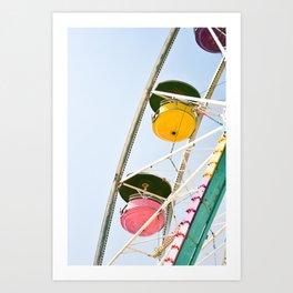 Carefree Summer of Love Art Print