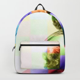 Marilyn Monro e | Sparkling Details | Painting Backpack