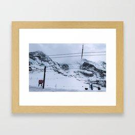 Kleine Scheidegg Framed Art Print