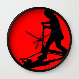Scooting Wall Clock