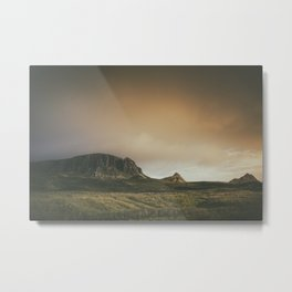 Mesmerized By the Quiraing V Metal Print