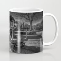 train Mugs featuring Train by John Hinrichs