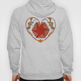 Hearts can be broken but strings will keep them together Hoody