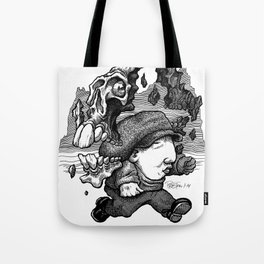 Dodging Dooms Tote Bag