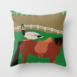Dumriand Throw Pillow