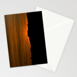 Winter Sunset III Stationery Cards