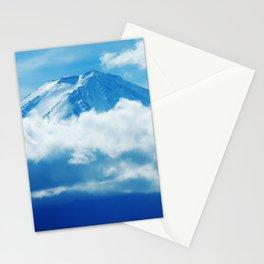 Mount Fuji Peaking Through Cloud Stationery Cards