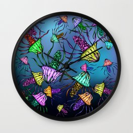 Stinging Party Wall Clock
