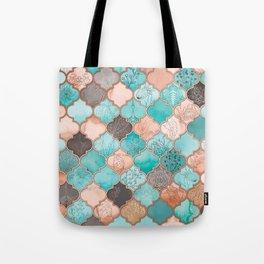 Moroccan pattern artwork print Tote Bag
