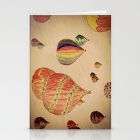hot air balloons Stationery Cards featuring Hot Air Balloons by AdrienneW