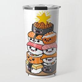 Sushi Xmas Travel Mug