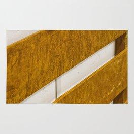 Lines Wood Rug