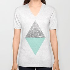 Diamond Unisex V-Neck