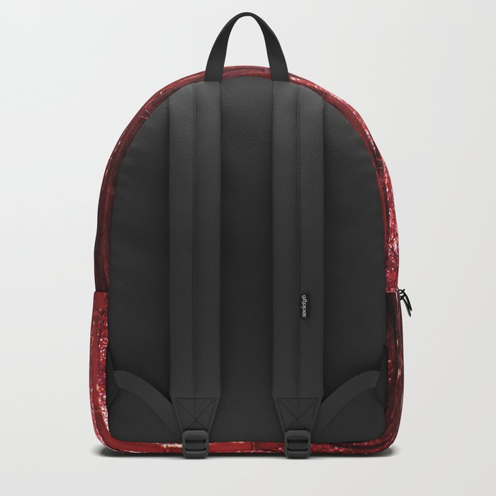 Red Bamboo Backpack