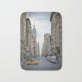 NEW YORK CITY 5th Avenue Bath Mat
