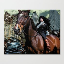 The Equestrian Canvas Print