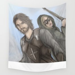 A Spy and a Thief Wall Tapestry