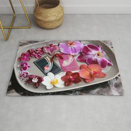A Collector's Plate Rug