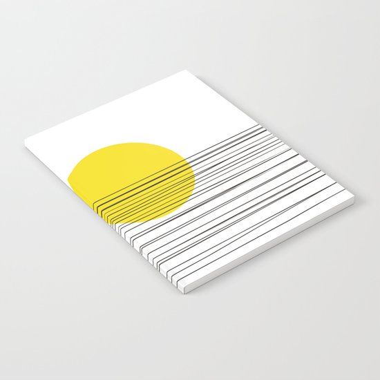 Sun and River Notebook