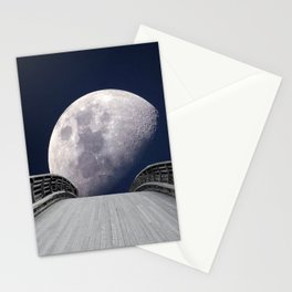 Walk to the Moon Stationery Cards