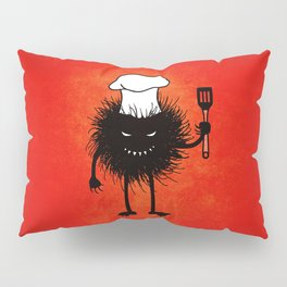 Evil Bug Chef Loves To Cook Pillow Sham