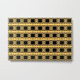 Boxes of Brackets Metal Print