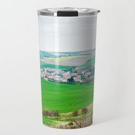 view from cap Blanc Nez Travel Mug
