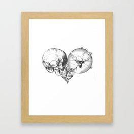 Cœur Perdu Framed Art Print