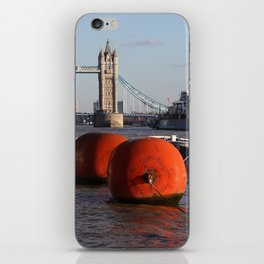 The River Thames, London, England iPhone Skin