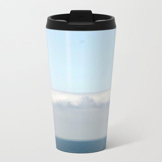 Ocean fog Metal Travel Mug