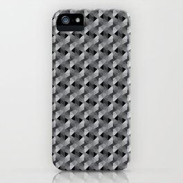 Abstract Hexagon Pattern iPhone Case