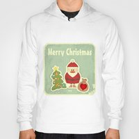 merry christmas Hoodies featuring Merry Christmas by Cs025