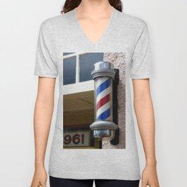 Barber Sign Unisex V-Neck