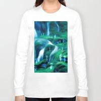 kodama Long Sleeve T-shirts featuring Kodama by Carles Marsal