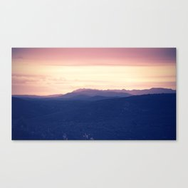Going to rise up, find my direction magnetically Canvas Print