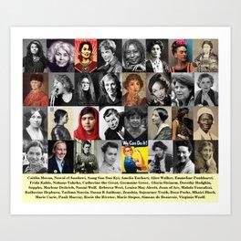 Feminist Tile Art Print