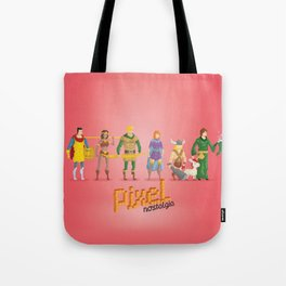 Dungeons and Dragons - Pixel Nostalgia Tote Bag