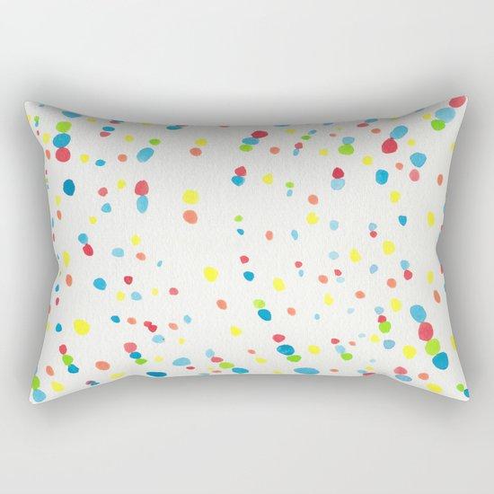 Dot Painting #society6 #buyart Rectangular Pillow