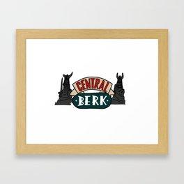 Central Berk Framed Art Print