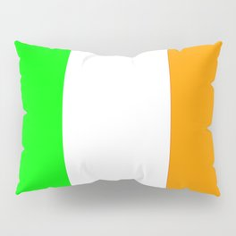 flag of ireland 5 -ireland,eire,airlann,irish,gaelic,eriu,celtic,dublin,belfast,joyce,beckett Pillow Sham
