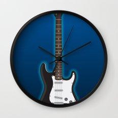 Rock my blue! Wall Clock