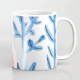 Red Monster on a Blue Jungle Coffee Mug